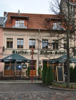 <h5>Unsere Fassade</h5><p>Das Hotel liegt mit in dem historischen Bernau. </p>